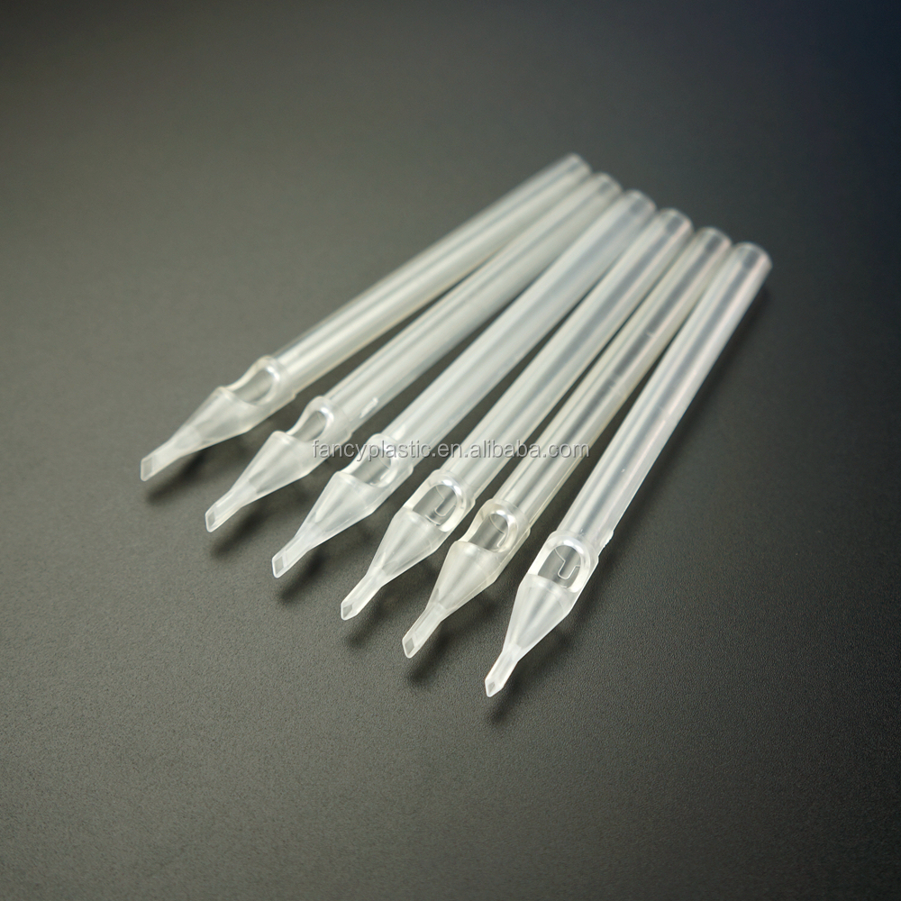 Hot Sale Plastic Disposable Sterile Tattoo Needle Long Tips - Open Magnum
