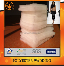 Polyester wadding for abbigliamento with high quality
