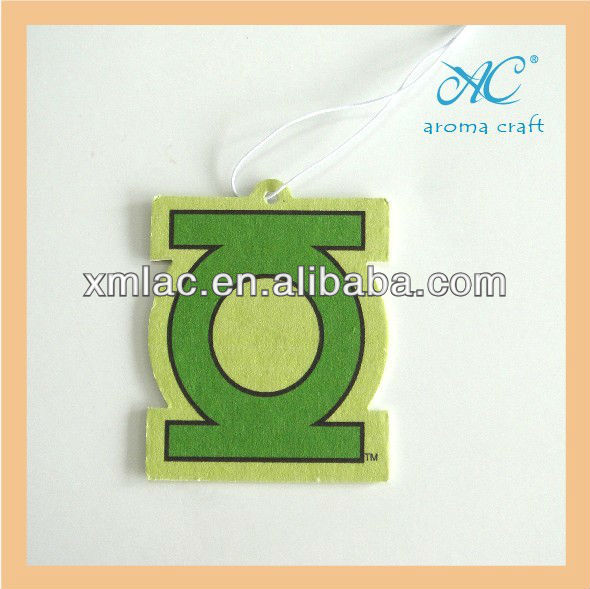 2014 non toxic recycled car paper air freshener