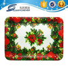 Custom Plastic pp food serving trays christmas decoration tray