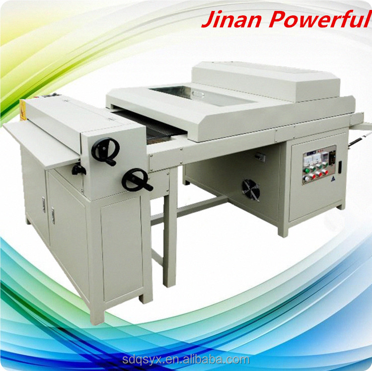 Glossy/Matt UV oil lacquer coating laminating embossing machine for photo album