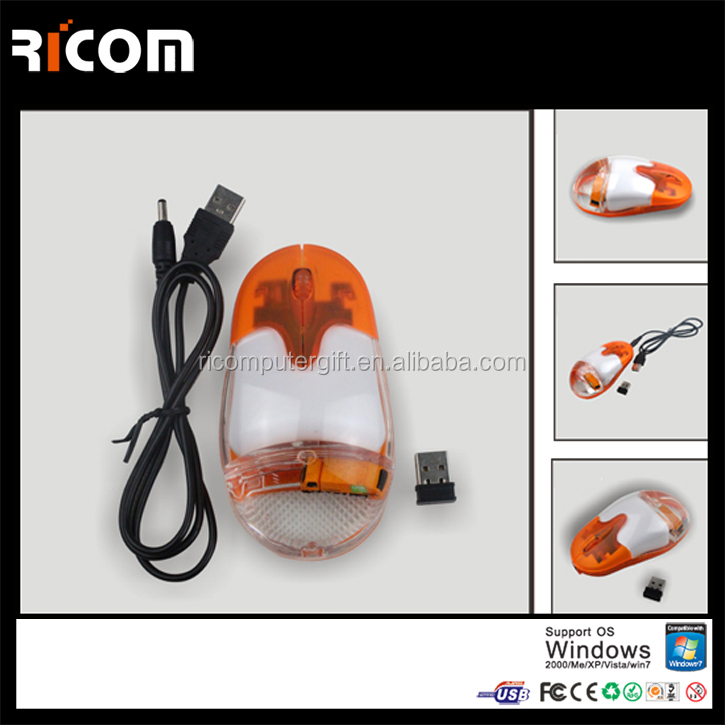 2.4G wireless liquid mouse with floater inside,wireless rechargeable aqua mouse,wireless rechargeable oil mouse MW7005