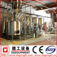 DG-100L stainless steel home brew equipment brewing beer plant