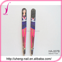 9.6 cm Length custom stainless steel tweezers