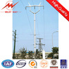 33KV connical or polygonal electric wooden poles for power transmission