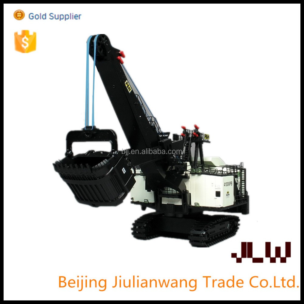 13J213F1 electric digging shovel with mechanical equipment of mechanical engineering project