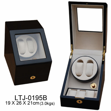 Mechanical watch boxes, rotate watch cases, watch case