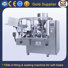 Cosmetics Paste Facial Cream Toothpaste Tubes Filling Sealing Machine