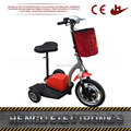 Passenger Foldable Lightest Carbon Fiber Electric Scooter 3 Three Wheel Car