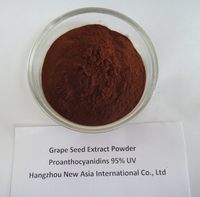 natural grape seed extract proanthocyanidins 95% UV Polyphenols 80% 85% 90% 95% UV