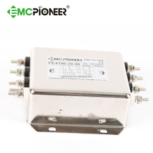emi suppression choke PE4100-20-06 inline magnetic filter for UPS
