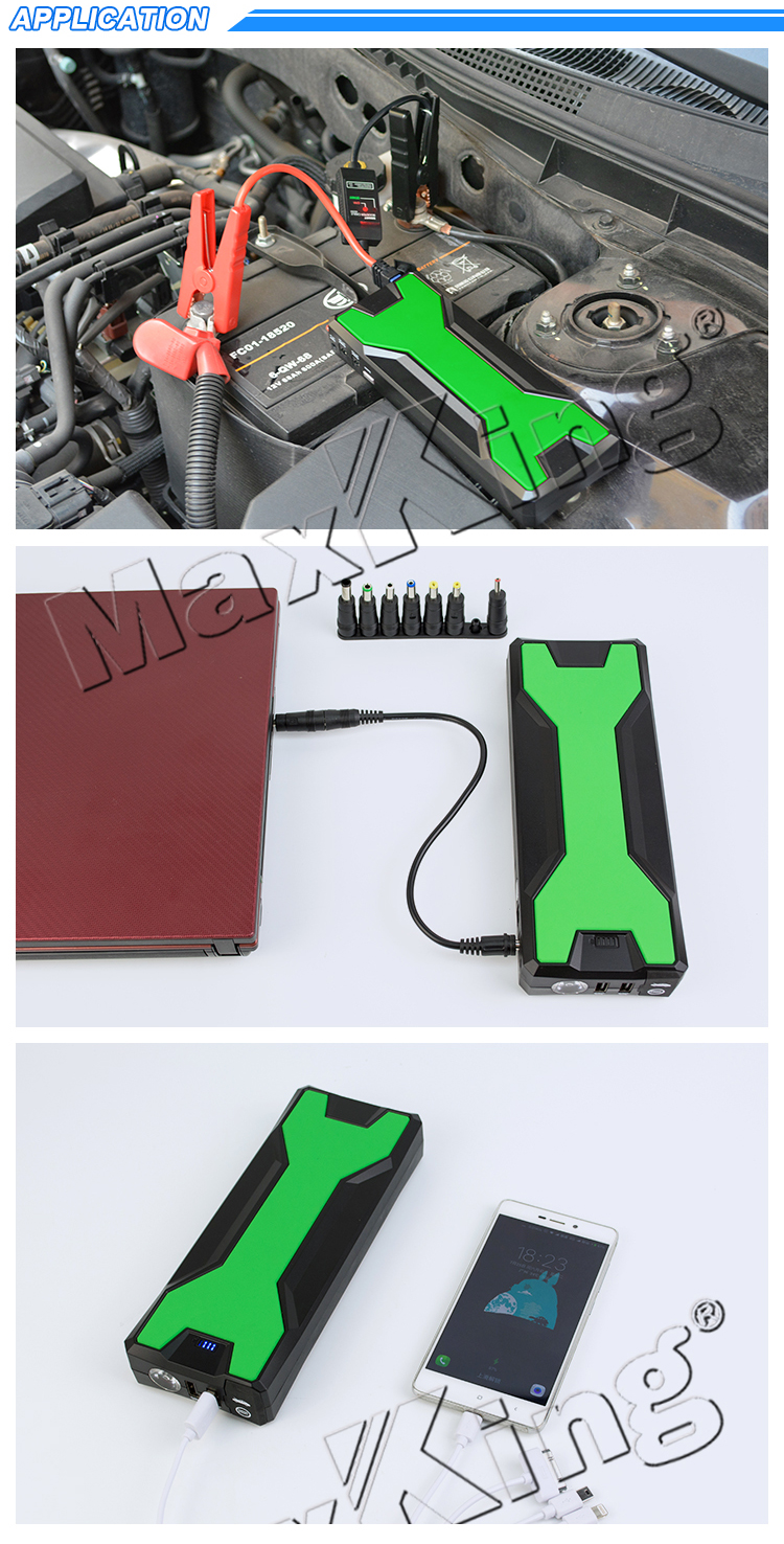 20000mah mini power bank jump starter for 12v car Laptop Mobile fatory price