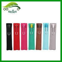 2015 Cheap Sale Top Grade High Quality PU Cigar Case Single Pen Case Custom Wholesale Personalized Pencil Cases