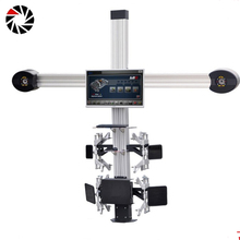 China manufacturer accurate laser 4 wheel alignment 4-wheel aligner price