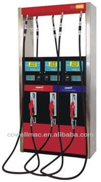 petrol station equipment fuel pump dispenser 2-flow meter 2-pump 2-nozzle