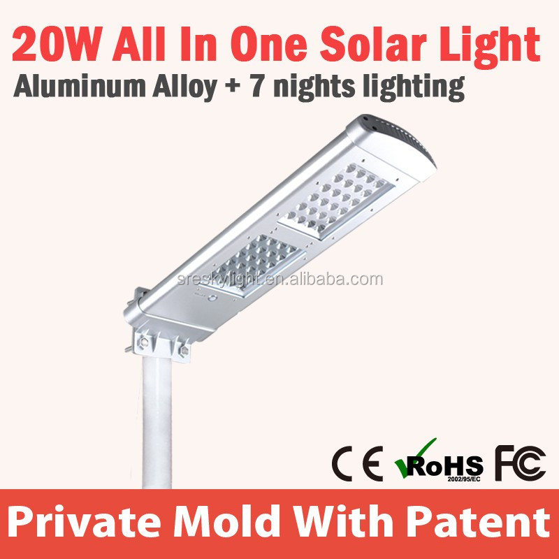 Led Outdoor Solar Lighting System Fixtures For Street Solutions