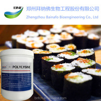 Polylysine natural preservative for sushi