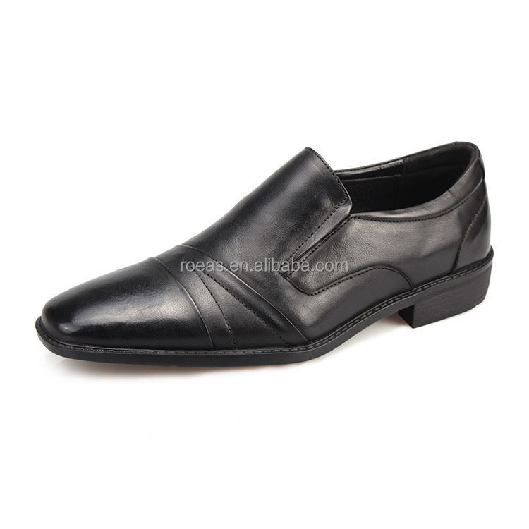 Latest arrival OEM design microsuede formal shoes