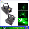Professional single green laser light beam/christmas lights projector