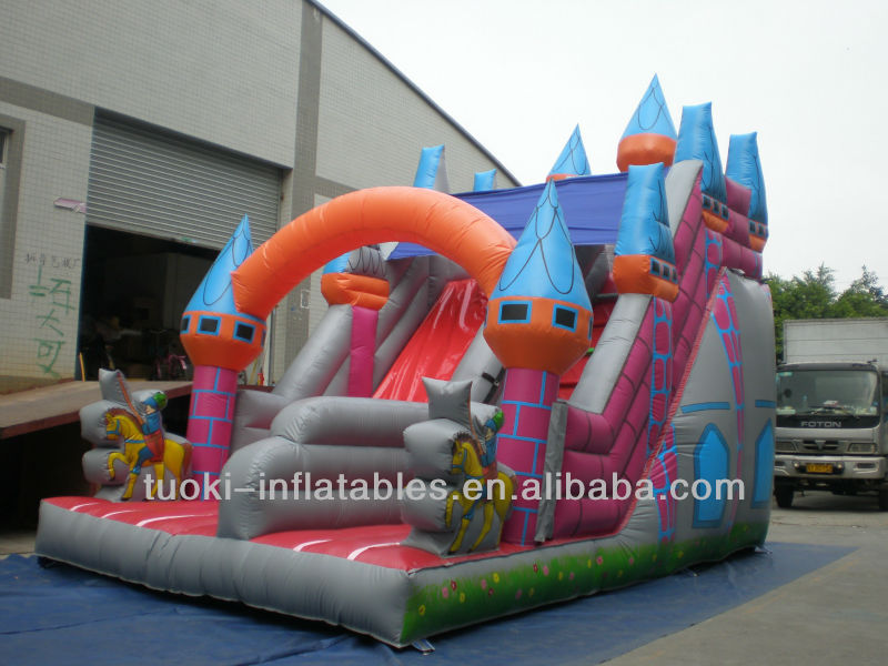 Hot good quality inflatable kids slider