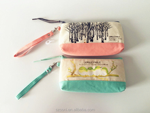 Wholesale Cotton Fabric Patterned Coin Purse
