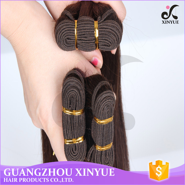 High quality human hair weave vendors factory russian human straight hair bulk virgin hair extension