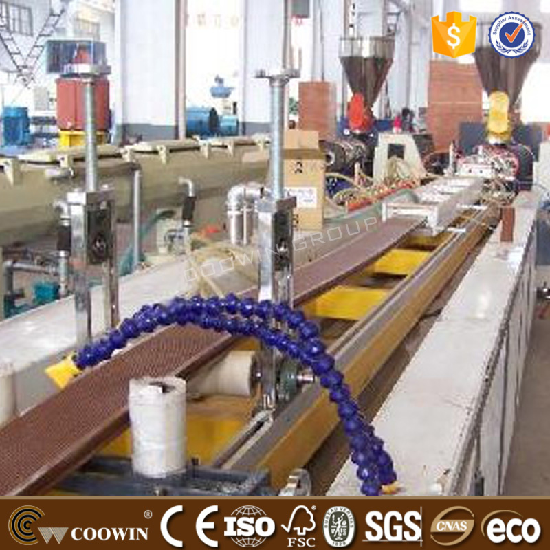 parallel twin screw extruder to make wpc pellet/granules