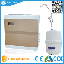reverse osmosis drinking water filter treatment system plant PP+GAC+CTO+RO+T33+Alkaline filter