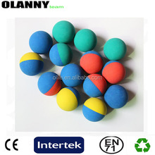hollow mini colored squash ball