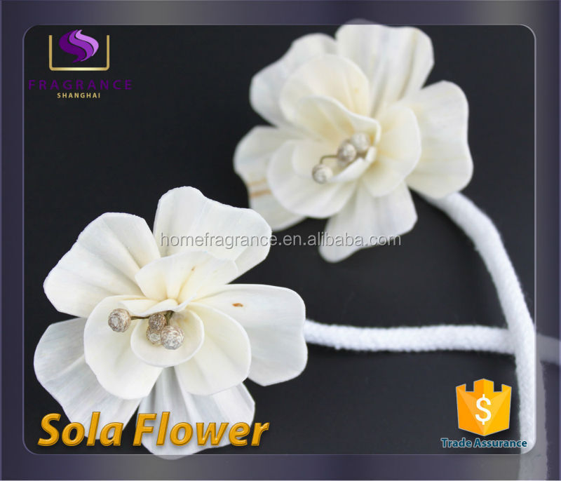 2016 high quality natural diffuser sola flower reed Dahlia