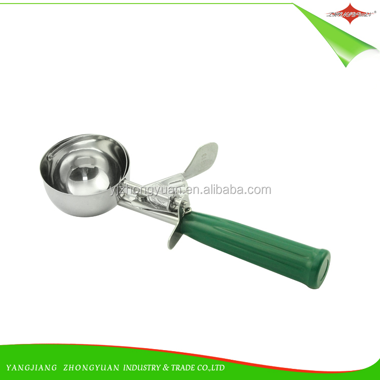 ZY-F1552 Wholesale Baking Dough Scoops Melon Balls Spoon Fruit Stainless Steel Tools Ice Cream Scoop