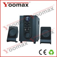 YOOMAX cheap price af mini digital speaker tf usb fm for mp3 mp4 pc YX 2135/2.1 with Bluetooth/USB/SD/FM function