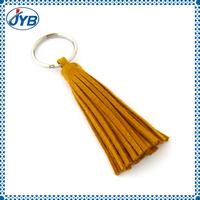 custom keychain braided and tassel leather