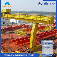 Heavy duty machinery antistatic epoxy coating and paint