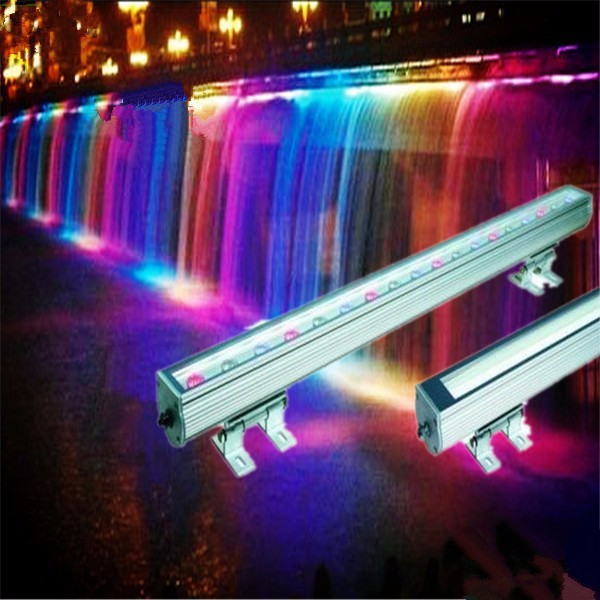 2 years warranty outdoor led lights wall washer RGB