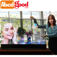 clear oled amoled transparent screen