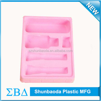 Custom Packing Blister Tray PVC PP PET Tray Factory for cosmetic industrial