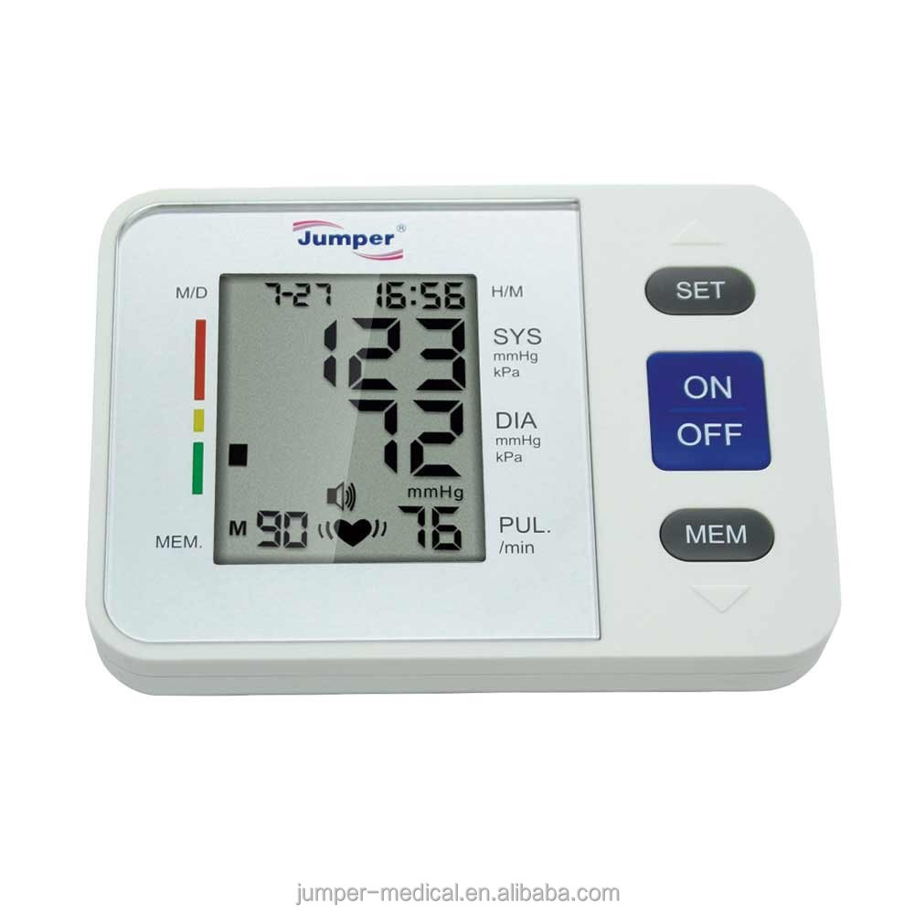 Jumper upper arm BP monitor with CE marked JPD-900A,fuzzy logic