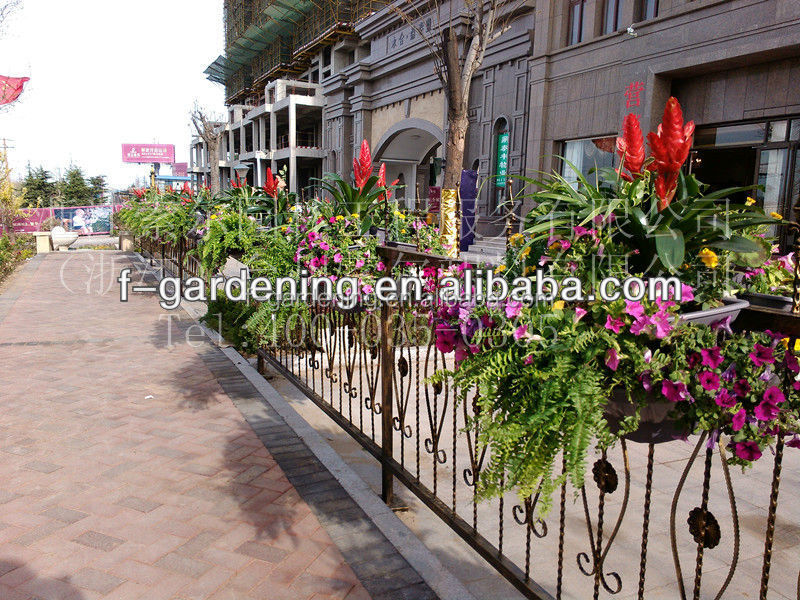 SOL 2015 eco-friendly garden fence flower pot fence hanging fen flower