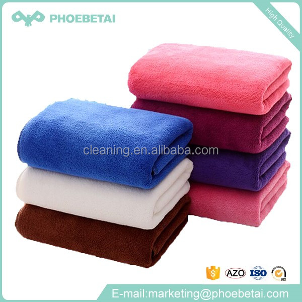 Pink cleaning wholesale cloths importer thick microfiber cleaning cloth