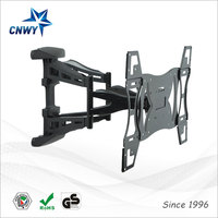 New Design folding wall mount lcd tv stand for most 65 screen