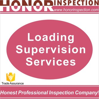 Honor Professional container loading supervision, survey company