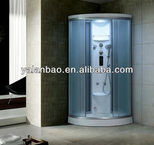 Bathroom Economic Shower Jetted Shower Cabin Prices Acrylic Steam Shower Room with Sauna Functions G264