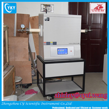 1600C laboratory 3 zone inert gas tube furnace for annealing/sintering/diffusing