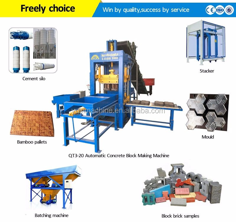 House Use concrete hollow block/Brick making machine price/Cement Interlocking paver brick block making machine price in India