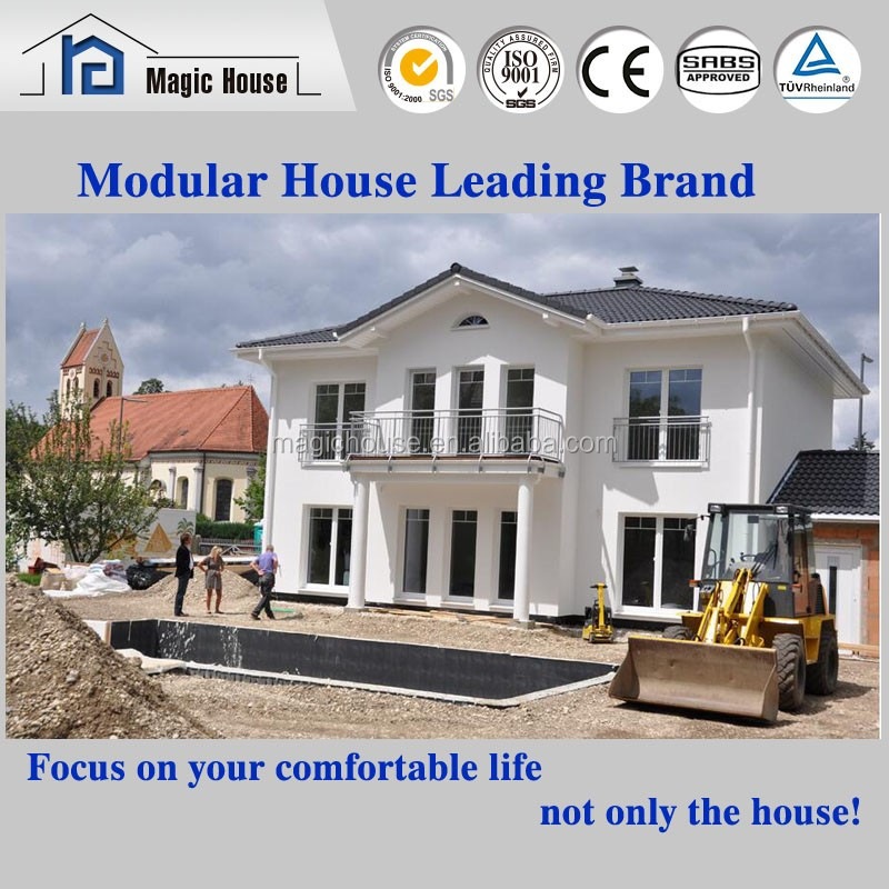 Earthquake-prevention low cost economical eps sandwich modular Kit prefab house