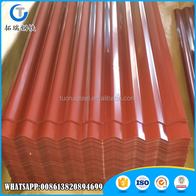 prepainted galvalume galvanized corrugated roof metal steel sheets price