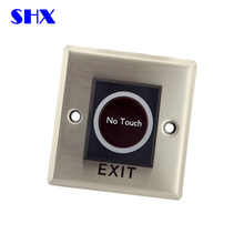 access control system wireless remote exit button / no touch exit button
