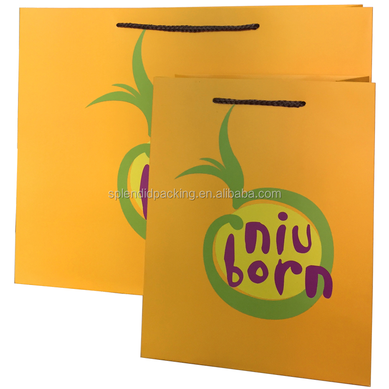 Vegetable Paper Carrier Bags