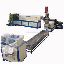 KEDA brand PP PE waste plastic film recycling line/granulating machine/pelletiing line/pelletizer